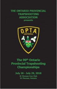 OPTA program cover 2018