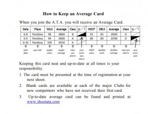 how to keep an average card